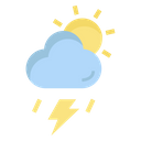Thunderstorm Weather Cloud Icon