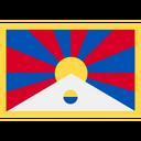 Tibet Asia Background Icon