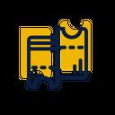 Ticket Train Airplane Icon