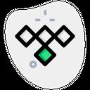 Tidal Technology Logo Social Media Logo Icon