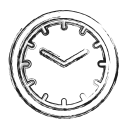 Time Management Social Icon