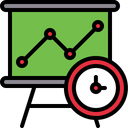 Time analysis Icon