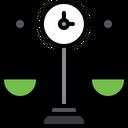Time balancing Icon