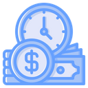 Time Is Money Business Time Time Management Icon