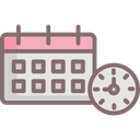 Action Plan Daily Routine Schedule Planning Icon
