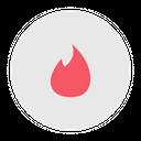 Tinder Logo Social Media Icon