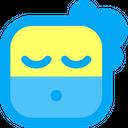 Tired Cream Emoji Icon