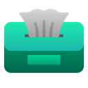 Tissue Box Clean Paper Icon