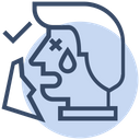 Tissue Paper Cough Icon