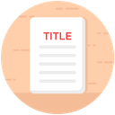 Title Deed Paper Document Property Papers Icon