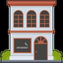 Tobacco Shop Vapor Shop Cigarette Kiosk Icon