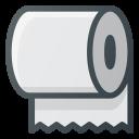 Toilet Paper Halloween Icon