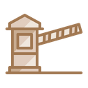 Toll Tag Barrier Icon