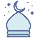 Fort Mosque Prayer Icon