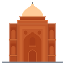 Tomb Building Mosque Worship Place Icon