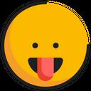 Emoticon Emoji Tongue Icon