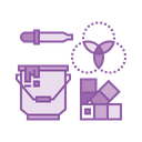 Tool Color Palette Icon