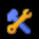 Tool Equipment Screw Icon
