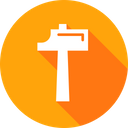 Tool Equipment Hammer Icon