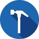 Tool Hammer Equipment Icon