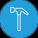 Tool Hammer Equipment Icon