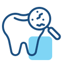 Tooth Bacteria Icon