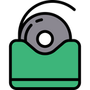 Tooth Floss Tape Dental Equipment Icon