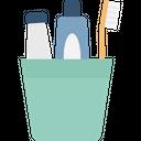 Bathroom Brush Hygiene Icon