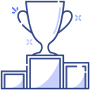 Top Winner Trophy Cup Winning Cup Icon