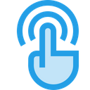 Touch Gesture Wifi Icon