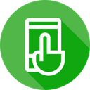 Touch Mobile Device Icon