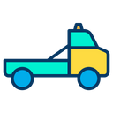 Tow Car Tow Truck Towing Car Icon