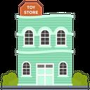Toys Store Toys Market Outlet Icon