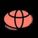 Toyota Company Logo Brand Logo Icon