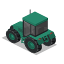 Tractor Back Icon