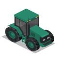 Tractor Front Icon