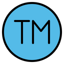 Trademark Tm Tm Sign Icon
