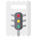 Traffic Challan Challan Payment Traffic Penalty Icon