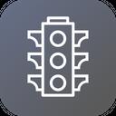 Traffic Control Signal Icon