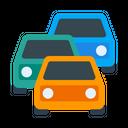Car Congestion Jam Icon