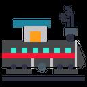 Train Locomotive Subway Icon