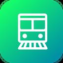 Train Transportation Travel Icon
