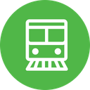 Train Transportation Travel Icon