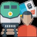 Train Travel Railway Travel Tour Icon