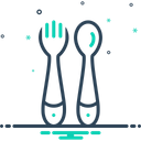 Training Spoon Fork Icon