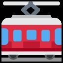 Tram Car Road Icon