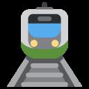 Tram Road Train Icon