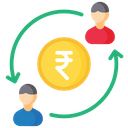 Transactions Payment Transactions Rupee Transactions Icon