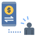 Online Payment Money Transfer Icon