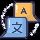 Translate Course Language Icon